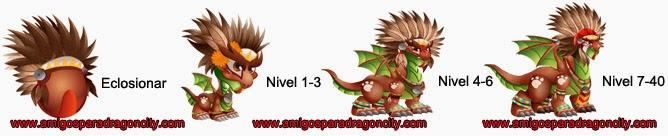 imagen del crecimiento del dragon apache