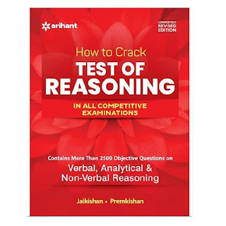 Arihant Test of Reasoning For All Competitive Exams