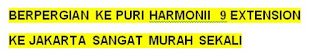 Puri Harmoni 9 Cileungsi Ke Jakarta