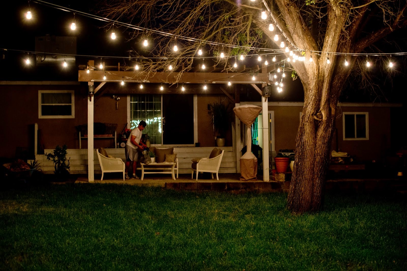 Lightshare: Light Up the Outdoor Patio or Porch With ... on Backyard String Light Designs id=39930