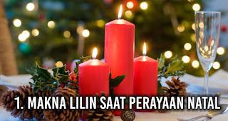 Makna Lilin saat perayaan Natal