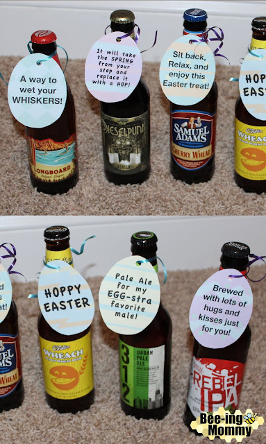 Bee ing mommy blog easter egg beer hunt for adults man easter basket beer beer hunt easter gift for him easter negle Gallery