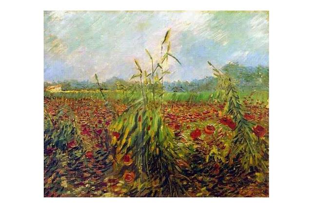 Vincent Van Gogh – Epis de blé vert, juin 1888, Musée d'Israël - Jérusalem