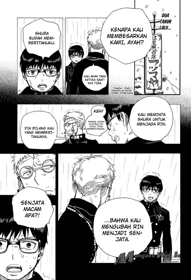 Ao no Exorcist Chapter 93-9