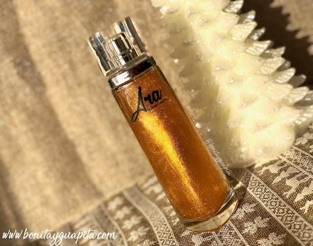 Perfumes con Oro de Syrma Cosmetics Ara