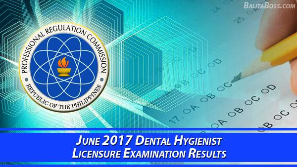 Dental Hygienist June 2017 Board Exam