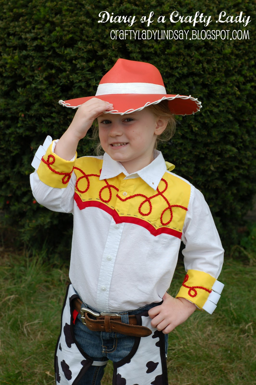 October 23 2011  sc 1 st  Diary of a Crafty Lady & Diary of a Crafty Lady: Cowgirl Jessie Halloween Costume