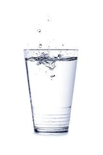 Gargling salt water for sore throat