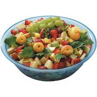 Bol pentru salata albastru transparent SAN plastic Ø 320x(H)100 mm 4.00 Lit