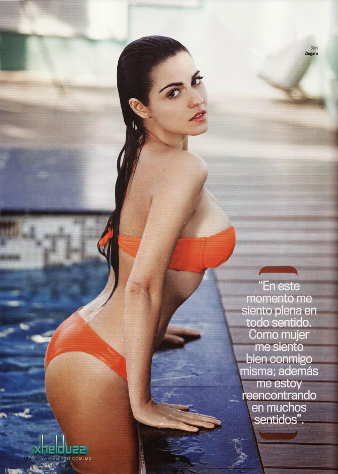 Maite Perroni Exposing Her Amazing Body In Bikini For Gq