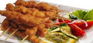 طريقة طبخ أسياخ الدجاج المتبل