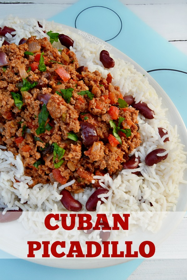If you like spicy food, you will love this Cuban Picadillo - add more or less chilies to your preference - 30-Minute dinner (start to finish)