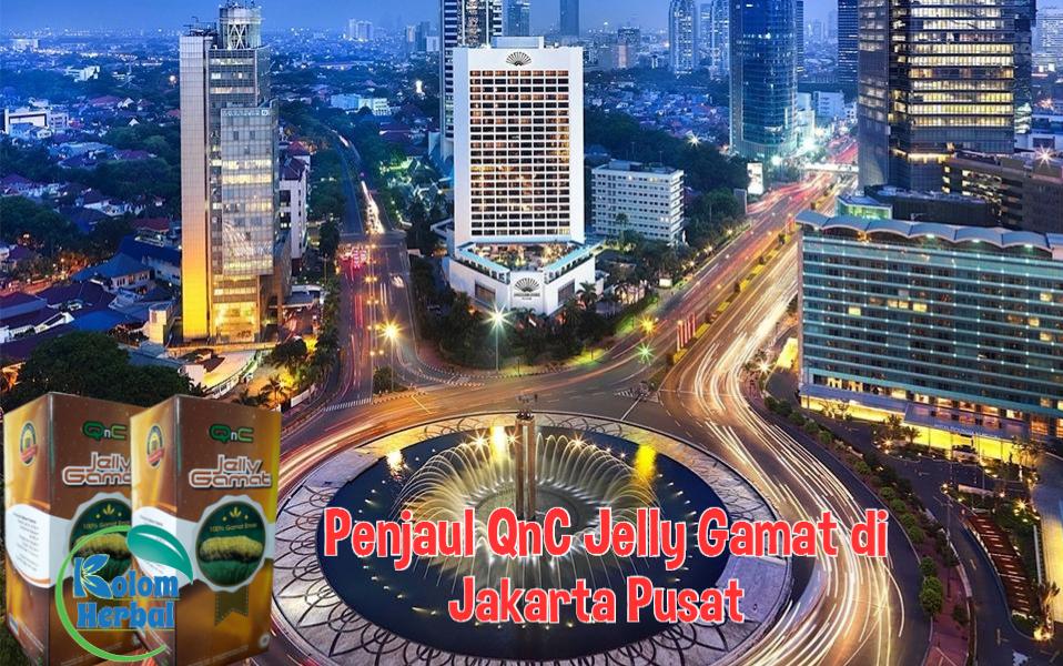 Penjual QnC Jelly Gamat di Jakarta Pusat