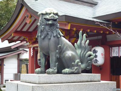 御霊神社狛犬