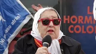 La titular de Madres de Plaza de Mayo volvió a cargar contra Mauricio Macri por la desaparición del joven artesano