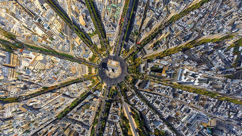 25 Stunning Aerial Views Photographs Of Cities Around The World