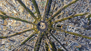Paris, France Aerial view