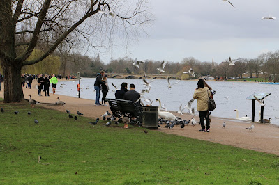 View across the Serpentine, Hyde Park