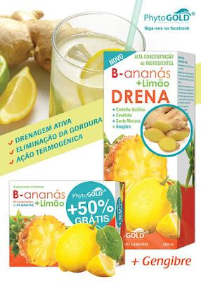B-Ananás + Limão PhytoGOLD