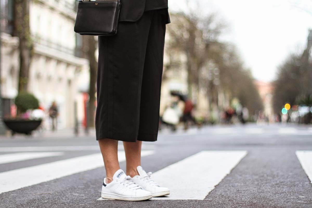 Eniwhere Fashion - Culottes - Sneakers - Trend FW 2014-15