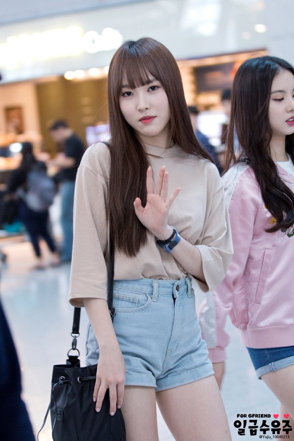 Gfriend Yuju With Her Bright Smile Daily K Pop News