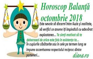 Horoscop Balanță octombrie 2018