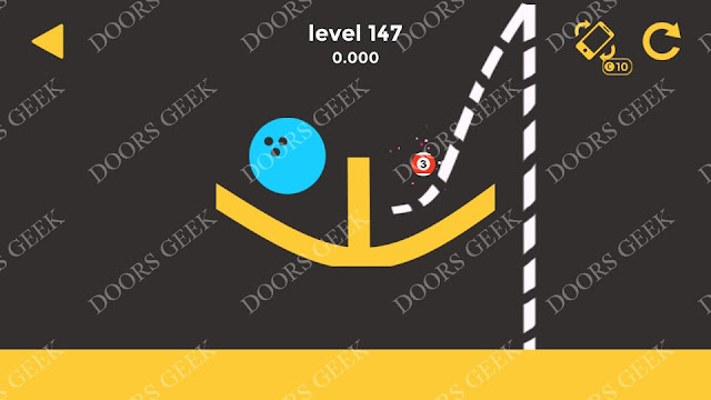 Ball & Ball Level 147 Solution, Walkthrough, Cheats for android and ios