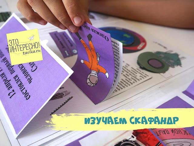 Лэпбук про космос