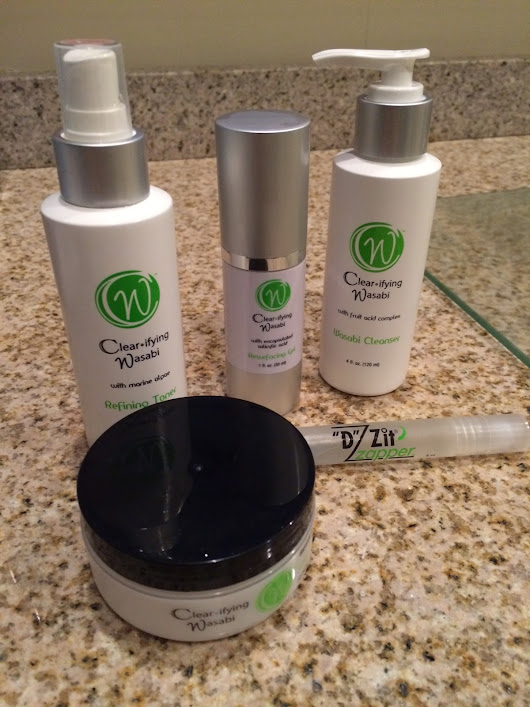Beauty Babble: Review: Derma MD Skincare & Wasabi Anti-Acne Kit (Part 1)