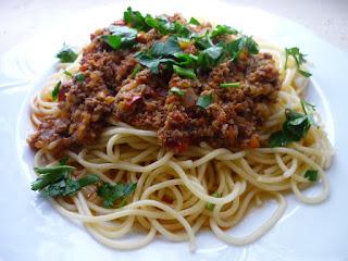 Pasta with Ground Beef (Kiymali Makarna)