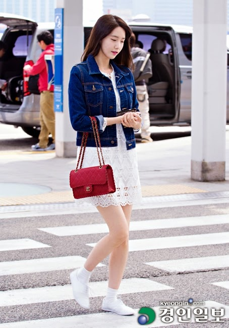 14 Lovely Airport Fashion Moments With Snsd S Yoona Snsd Oh Gg