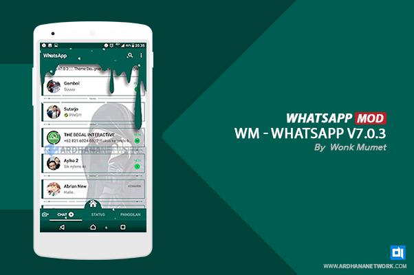 WM (WA Meler) Whatsapp V7.0.3 By Woenk Mumet
