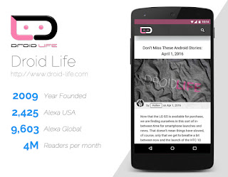 Droid life best android blog around world