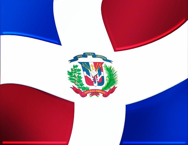 Bandera de República Dominicana  en formato png