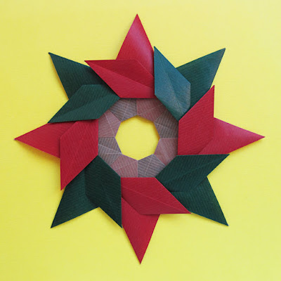 Origami CP, Stella ghirlanda - Star garland © by Francesco Guarnieri