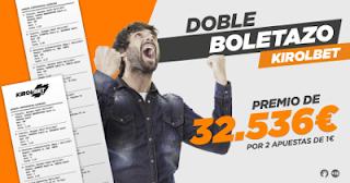 kirolbet un cliente gana 32.536 euros con dos apuestas de 1 euro