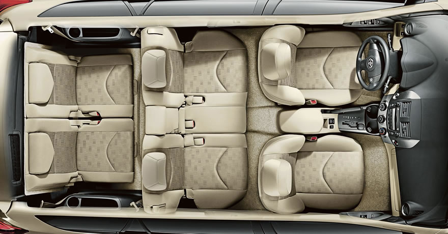 The Rav4 Has 5 Inches More Front Legroom 2 Shoulder Room And 1 Rear Headroom Than Honda Cr V