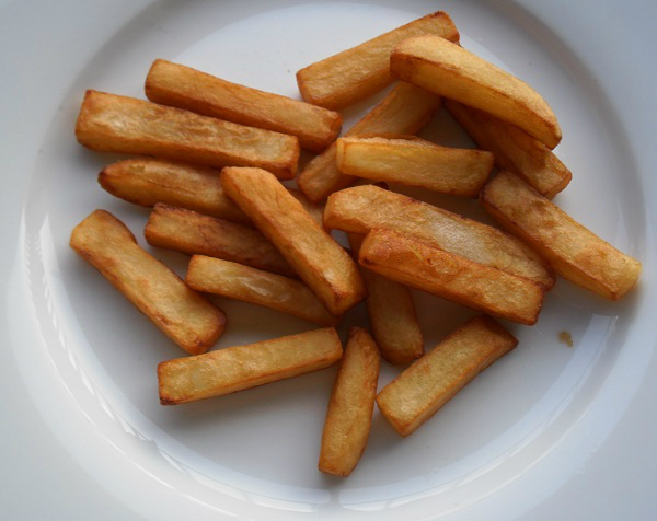 de keuken van martine: zelf patat / friet maken