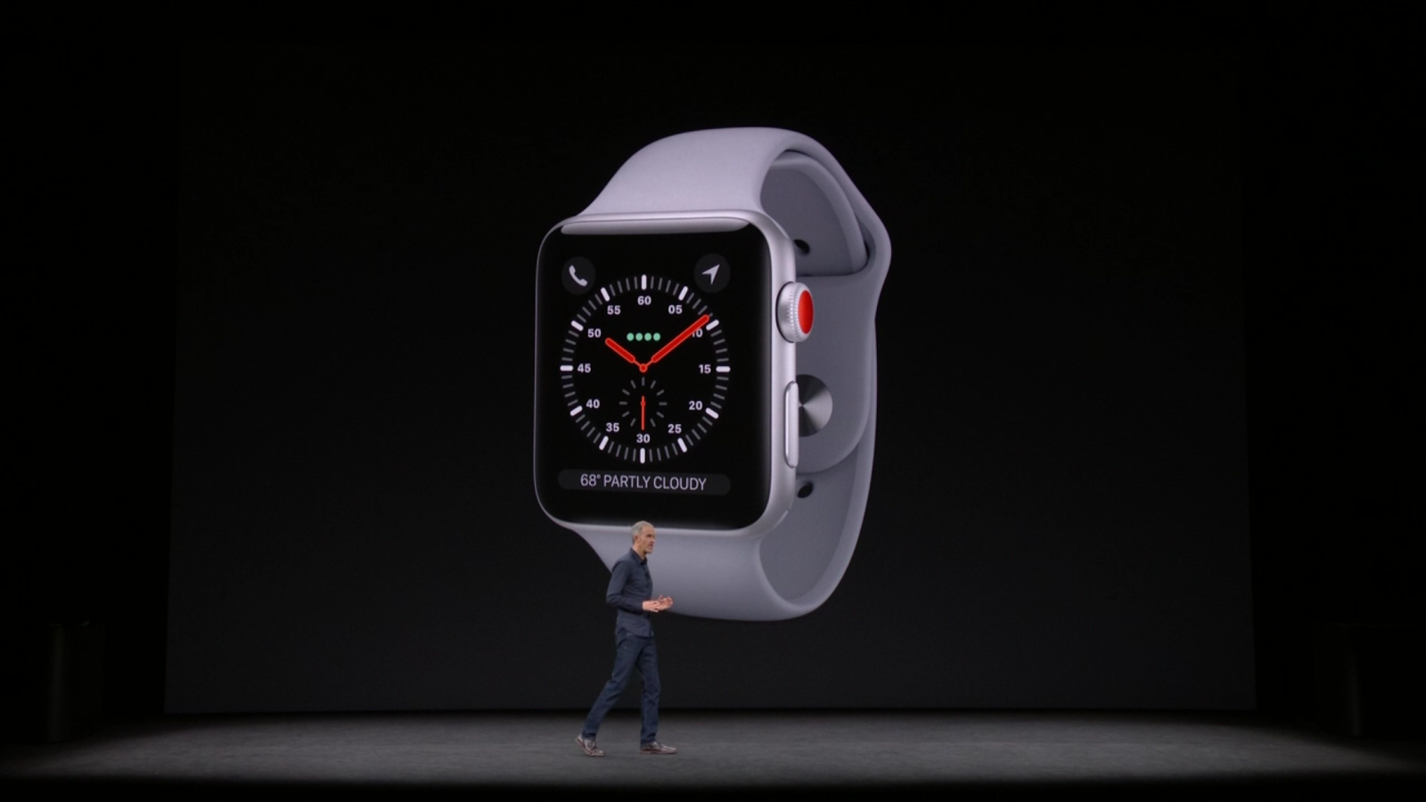 Apple today launches a brand new Apple Watch Series 3 with many new features like LTE connectivity, dual core processor.