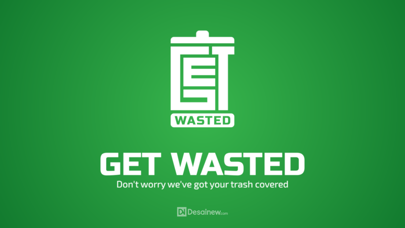 Get Wasted Logo Design Project Portfolio Desainew Studio