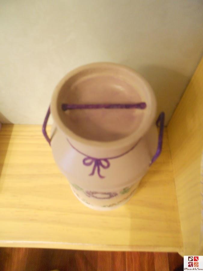 reciclar una lata de bombones