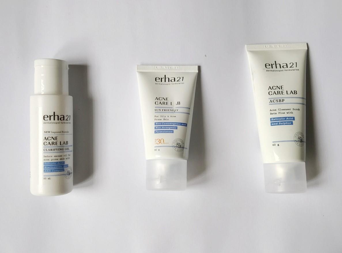 Review ERHA Acne Care Lab Series, Perawatan Untuk Kulit ...