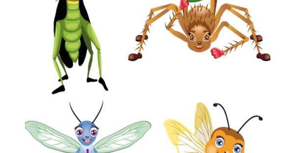 Insectos infantiles para imprimir   Imagenes y dibujos para imprimir