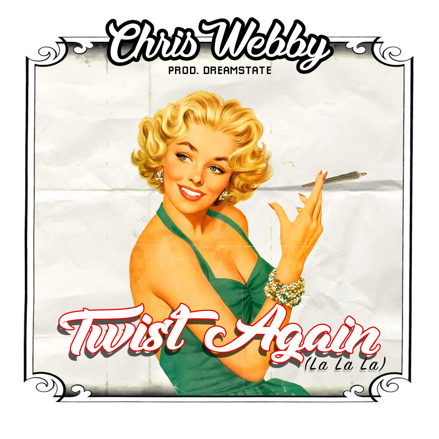 Chris Webby - Twist Again (La La La) - Single Cover