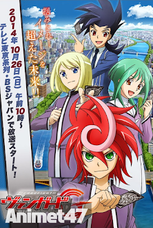 Cardfight!! Vanguard G - Cardfight!! Vanguard: SS2 2014 Poster