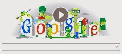 Google Doodles de Halloween