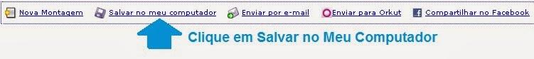 Salvando Calendário 2014