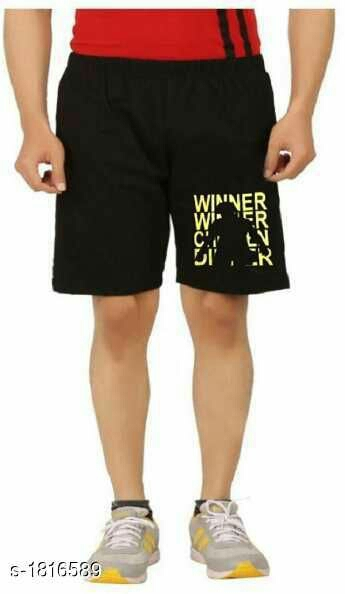 Elite Classic Cotton Printed Men's Shorts