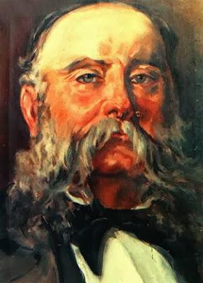 Retrato al óleo de Carles Bosch de la Trinxeria