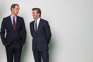 Prince William and David Beckham on the protection of wild animals